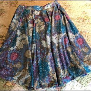 New LuLaRoe Madison flared skirt!